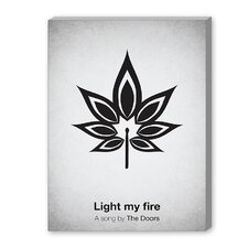 Light My Fire Graphic Art on Canvas