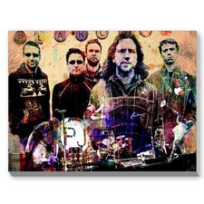 Pearl Jam Graphic Art on Canvas
