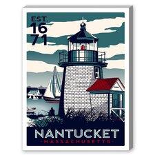Nantucket II Vintage Advertisement on Canvas