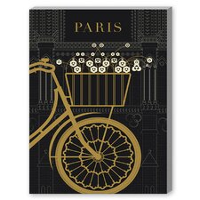 Paris 1 Graphic Art on Canvas