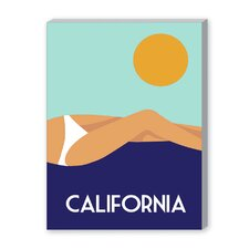 California I Graphic Art on Canvas