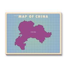 China Graphic Art on Canvas