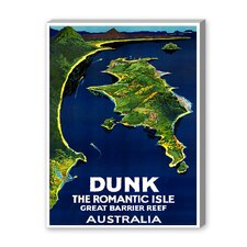 Australia Romantic Isle Graphic Art on Canvas