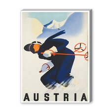 Austria Dude Vintage Advertisement on Canvas