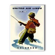 Colorado Vintage Advertisement on Canvas