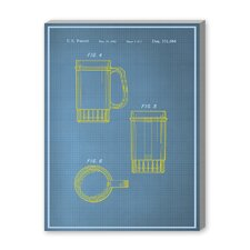 Beer Stein II Graphic Art on Canvas