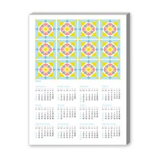 Calendar Portuguese Tile I Graphic Art on Canvas