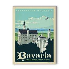 Bavaria Vintage Advertisement on Canvas