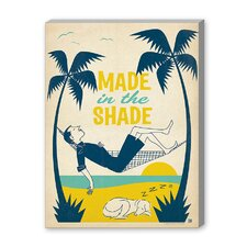 Coastal Made in the Shade Vintage Advertisement on Canvas