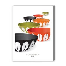 CathrineHolm Infinity Bowls Graphic Art on Canvas