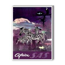 Africa SAS Graphic Art on Canvas