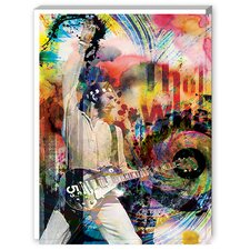 Pete Townsend Graphic Art on Canvas