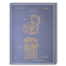 Phonograph Cabinet Graphic Art on Canvas