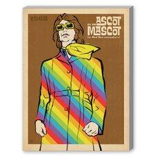 MOD Ascot Mascot Graphic Art on Canvas