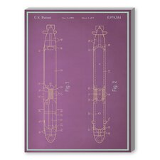 Submarine Graphic Art on Canvas