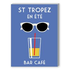 St. Tropez En Ete Graphic Art on Canvas