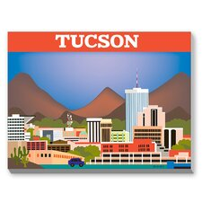 Tucson Graphic Art on Canvas