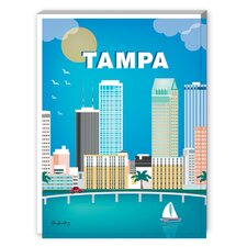 Tampa Graphic Art on Canvas