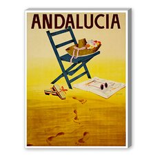 Travel Andalucia Graphic Art on Canvas