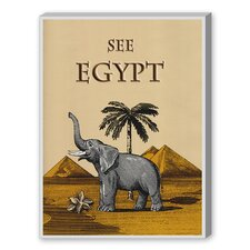 See Egypt Graphic Art on Canvas