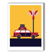 Summer Road Trip Graphic Art on Canvas