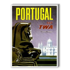 Travel Portugal Graphic Art on Canvas
