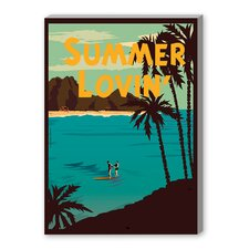 'Summer Lovin' by Diego Patino Vintage Advertisement