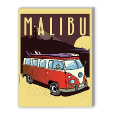 'Malibu' by Diego Patino Vintage Advertisement