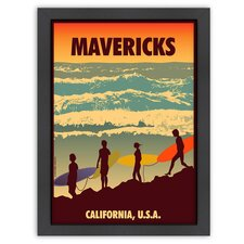 Vintage Mavericks Poster