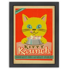 Vintage Ad Follies Kitty Krunch Poster