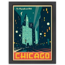 MOD 'Chicago: Modern Magnificent Mile' by Joel Anderson Vintage Advertisement
