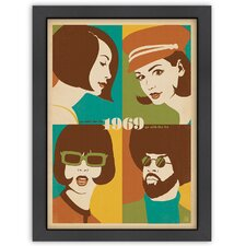MOD 1969: Go with the Flo / Fro Poster