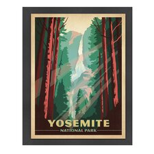 World Travel Yosemite National Park Poster