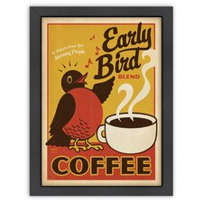 Coffee 'Early Bird' by Joel Anderson Vintage Advertisement