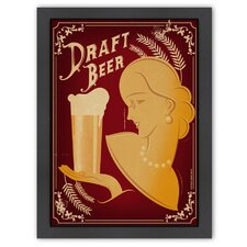 Vintage Draft Beer Poster