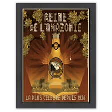 'Rein de Lamazone' by Diego Patino Vintage Advertisement