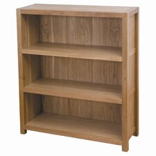 Cubic Oak Low Bookcase
