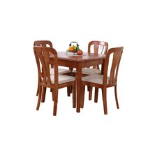 Windsor House 5 Piece Extendable Dining Set