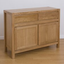 Cubic Oak Sideboard