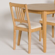Dining Chair with Slatted Back