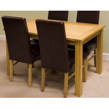 Cubic Oak Dining Table