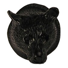 "Curiosities 1.5"" Bear Head Knob"