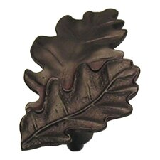 "Fruits of Nature 2.5"" Oak Leaves Knob"