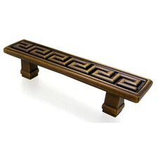 "Greek Key Olympia 4.5"" Bar Pull"