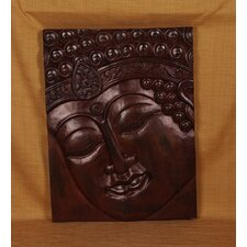 Buddha with Indian Band Panel