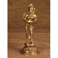Brass Series Deep Laxmi Figurine