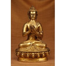 Brass Series Praying Buddha Figurine