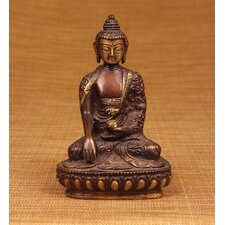 Brass Series Buddha Earth Touching Figurine