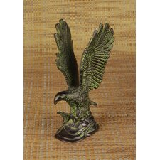 Brass Series Bald Eagle Figurine