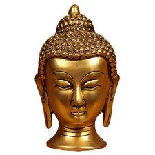 Brass Series Buddha Head Bust